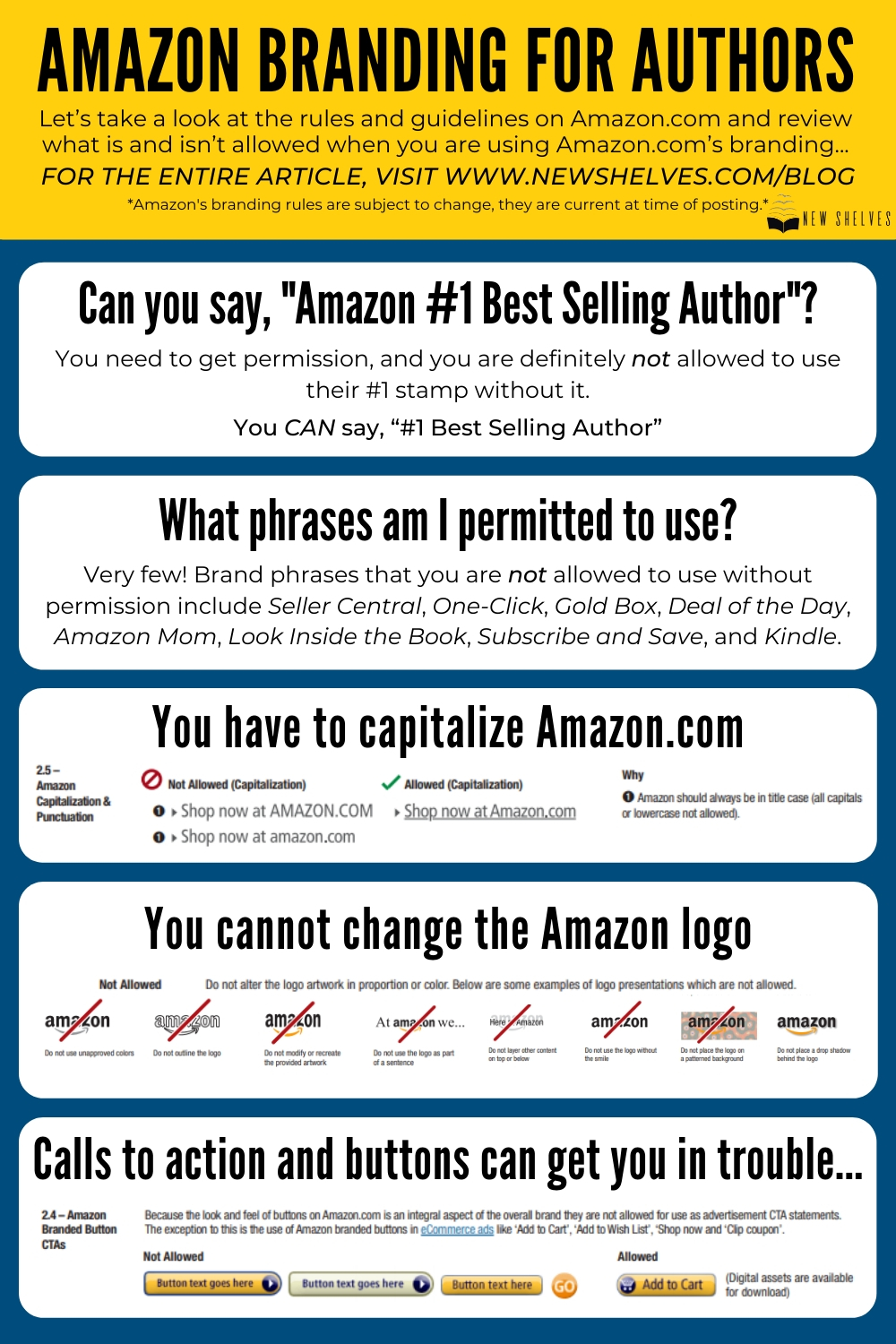 Authors Being Penalized for Using Amazon Logos & Images
